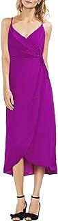Women's Sleeveless Soft Texture Wrap Dress