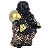 Atyhao Estatuas de Buda, esculturas de Figuras de Buda para la Suerte y la Felicidad, Bolsa de Dinero para Llevar Estatua de Dios de la Riqueza decoración del hogar