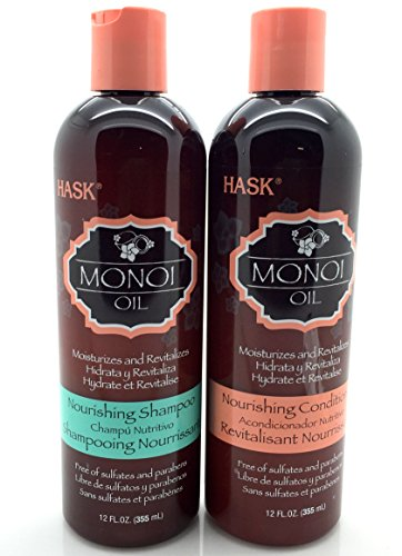 Hask Monoi Oil voedende Shampoo & Conditioner