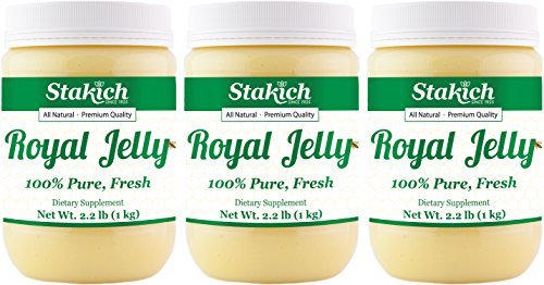 Stakich Fresh Royal Jelly - Pure, Natural, No Additives - 3 Kilograms