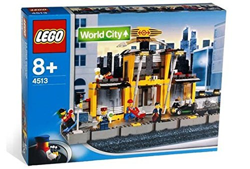 LEGO World City 4513 - City-Bahnhof