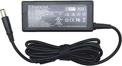 Cloudwind 65W 19.5V,3.34A Ac Charger, Adapter, Power Cord Supply Replacement for Dell,Compatible with Dell Inspiron 15R (N5010),15R (N5110), 15R,15RM, 15RN, 15z (1570), 15Z.1525,1526, PP29L.