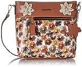 Laura Vita 4234, Bolsa de transporte para Mujer, marrón, Medium