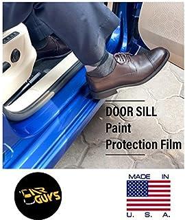Car Guys Saint Gobain PPF Door Sill Guard Paint Protection Kit for All Cars Transparent (6 cm x 70 cm, 2PCS)