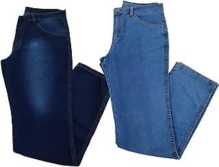 Kit 2 Calças Jeans Masculina Tradicional