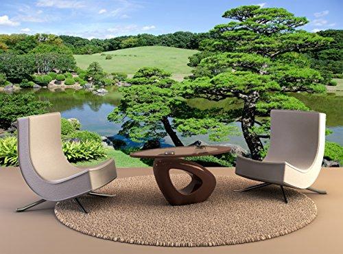 Fotobehang Japanse Tuin muur Art Decor Fotobehang Poster Hoge Kwaliteit Print