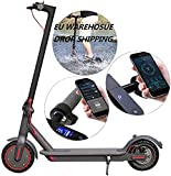 Skran 350W Electric E-Scooter with Powerful Battery & Scooter Motor, Lightweight and Foldable for Adults and Teenagers with Powerful Headlight & App Control