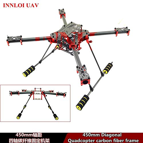 Best Deals! Part & Accessories DIY 4-Axis 450mm Carbon Fiber Frame for 4-rotors Quadcopter frame bod...