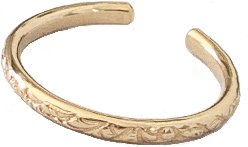 Hawaiian Breeze Gold Fill Adjustable Toe Ring