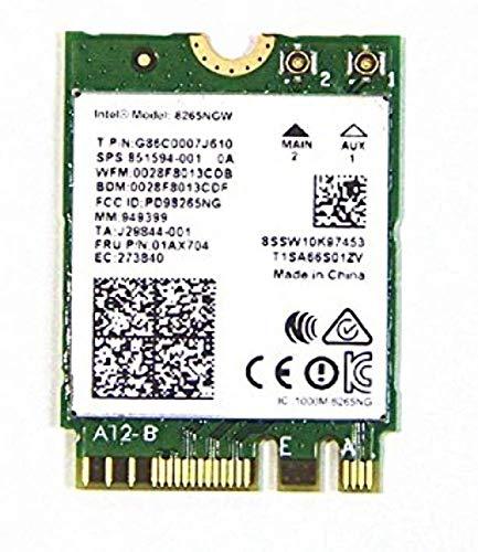 Intel Dual Band Wireless-Ac 8265 w/Bluetooth 8265.NGWMG