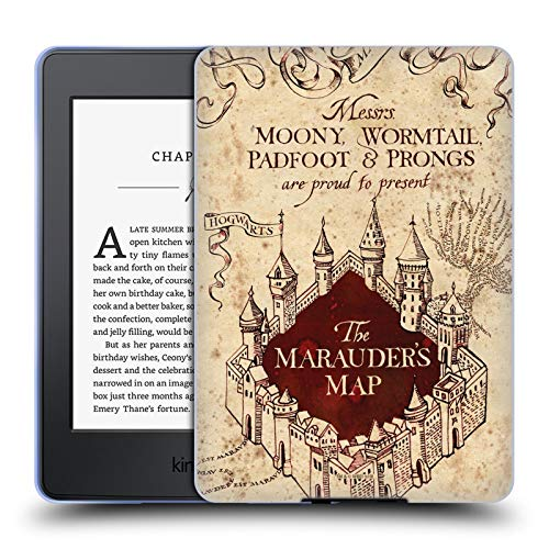 Head Case Designs Officially Licensed Harry Potter The Marauder's Map Prisoner of Azkaban II Soft Gel Case Compatible with Kindle Paperwhite 1/2 / 3