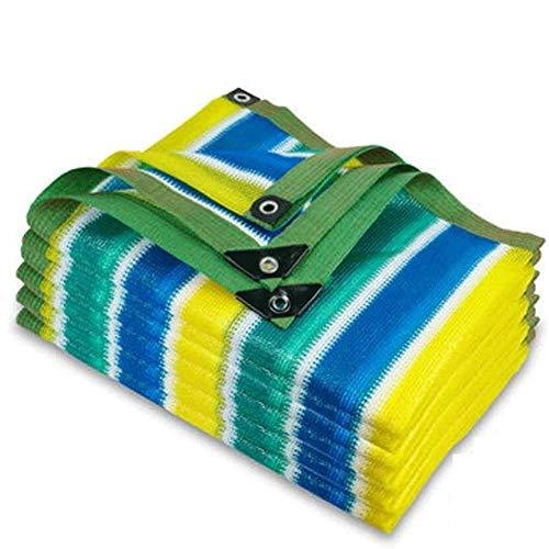 DX Shade Sails Sun Garden Plantas de tela con ojales 80% tasa de sombreado de color para la planta de la mascota invernadero granero granero piscina Pérgola o piscina, 5 x 8 m (16 x 26 pies)