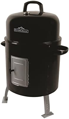 RiverGrille SC2032408-RG Silver Spur Water Smoker