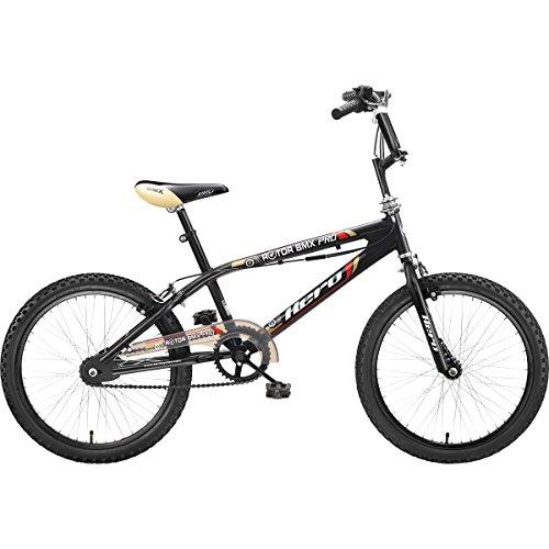 Hero Rotor BMX Pro 20T Single Speed Junior Cycle (Black)