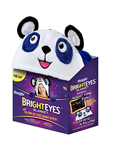 Snuggie Bright Eyes Couverture, Bleu...