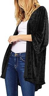 Best black velvet kimono Reviews