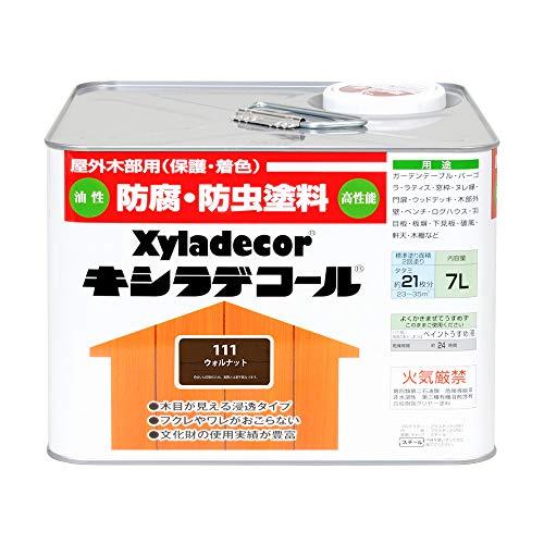 大阪ガスケミカル株式会社 キシラデコール ウォルナット 7L