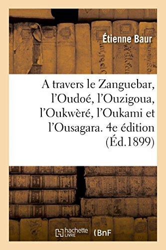 A travers le Zanguebar. 4e édition