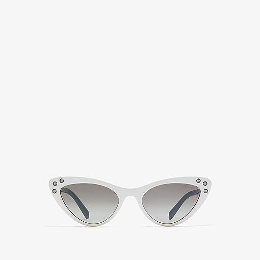 White/Black/Gradient Grey Mirror/Silver