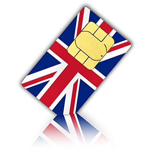 travSIM SIM-kaart voor Groot-Brittannië, Engeland, Schotland, Noord Ierland (tel/SMS/gegevens) - Standard & Micro SIM - Brits Prepaid SIM kaart