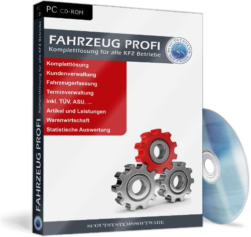 Fahrzeugprofi - KFZ Werkstatt Software, Autovermietung, Buchhaltung