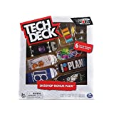 Tech-Deck Sk8shop Bonus Pack 6 Pack 96mm Fingerboards (Plan B)