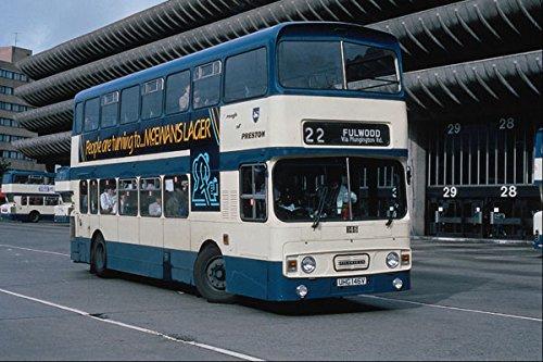 581005 Leyland_Atlantean_ 146 Laat Preston Bus Station A4 Photo Poster Print 10x8