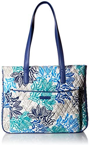 Vera Bradley womens Bag Vera Bradley Women s Signature Cotton Commuter Tote Totes Santiago with product image