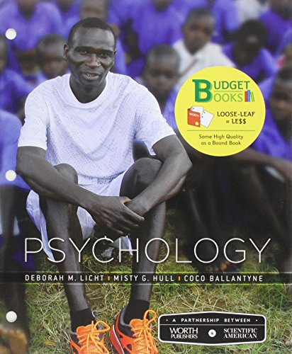 Loose-leaf Version for Scientific American: Psychology (Budget Books)
