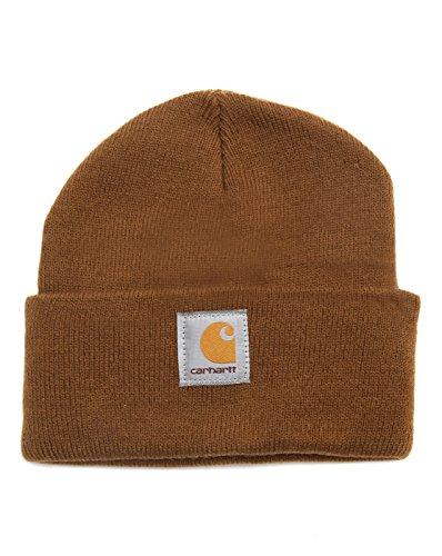 Carhartt Workwear Beanie Mütze Watch Hat, Arbeitsmütze, Carhartt Brown, Einheitsgröße
