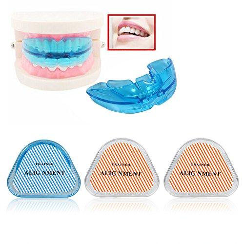 3 piezas de alineación para adolescentes, adultos, retenedor de dientes, cuidado de la salud, recto, reutilizable, tirantes # 3