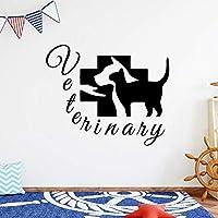 犬の壁のステッカーファミリーキッチンレストランファミリーパーティーの壁紙