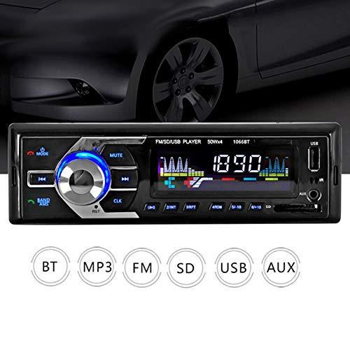 YSHtanj Auto Intelligent Systeem Muziek Speler Auto Kit Handsfree FM Radio Stereo Bluetooth USB MP3 Speler met Afstandsbediening