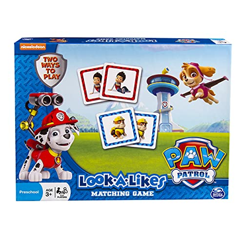 Paw Patrol Look a Likes Matching Board Game