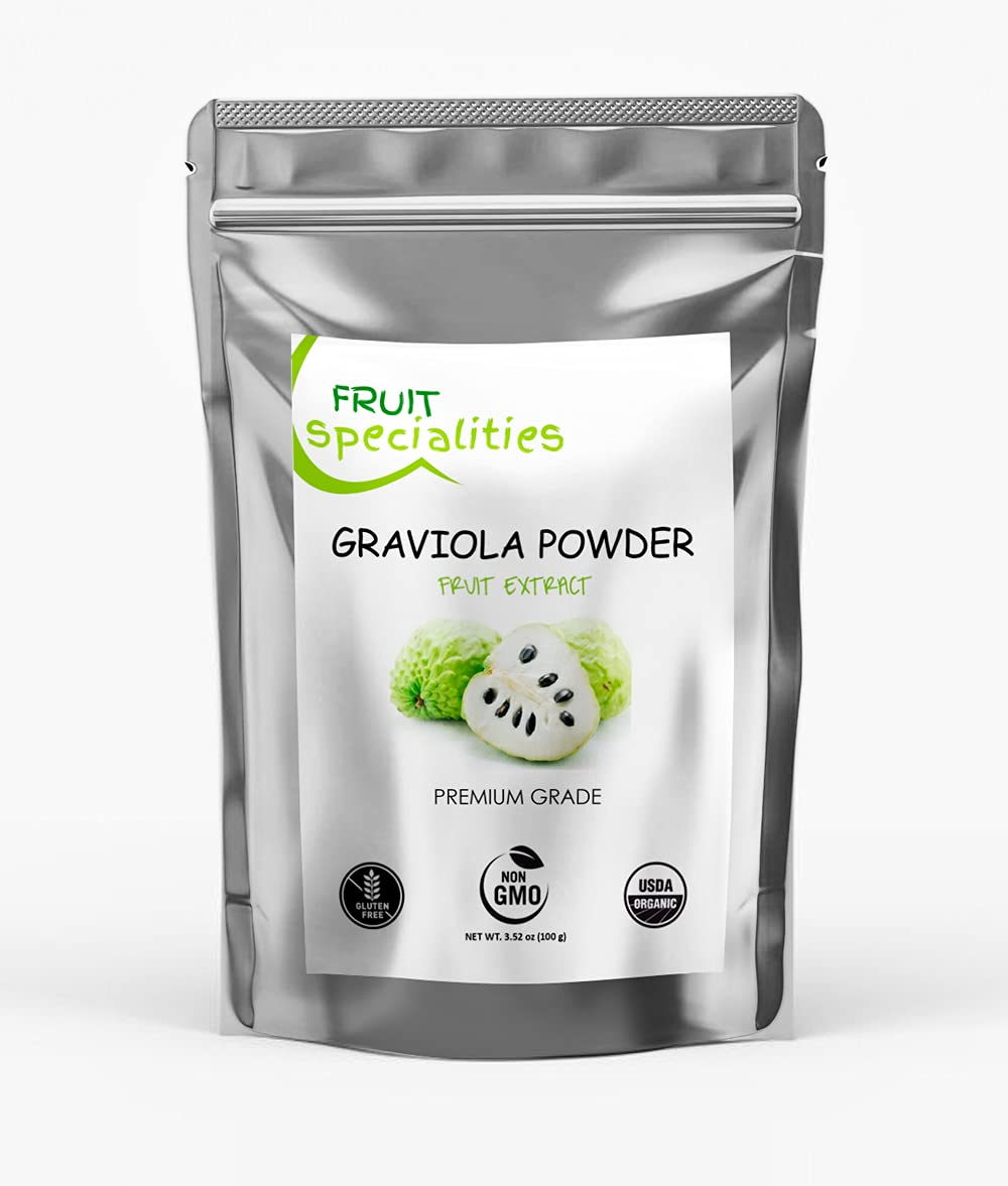 Graviola Limited time sale FRUIT Powder All-Natural Soursop Pure Max 43% OFF Annona