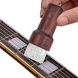 Instrumentos de cuerda portátil Accesorios cepillo de limpieza de guitarra conveniente increíble para la limpieza del ukelele para uso profesional