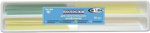 Zubastick Dental Abrasive Strips for Polishing 50 psc