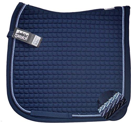 ESKADRON Cotton Schabracke navy, 3fach Kordel navy,jeans,lightblue, Form:Dressur