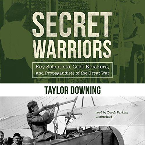 Secret Warriors audiobook cover art