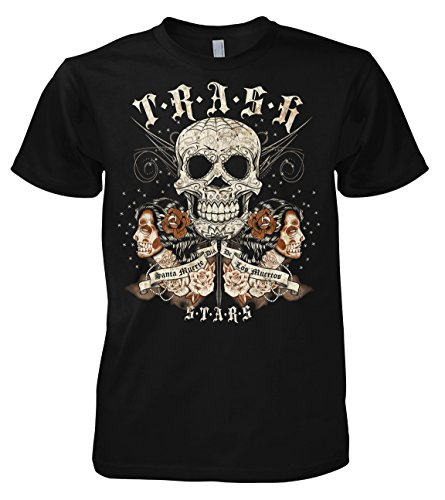 Rock Style Santa Madre - Santa Muerte T-Shirt 2XL