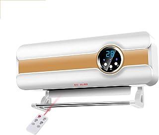 Radiador eléctrico MAHZONG Calefactor de Pared Grande para Interiores y baños con Control Remoto, 2000W