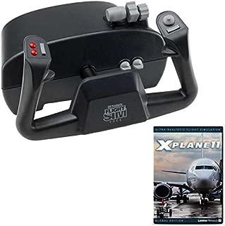 CH Products Flight Sim Yoke and X-Plane 11 DVD Bundle