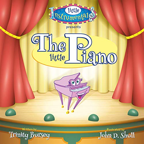 The Little Piano audiobook cover art