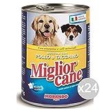 Miglior Cane Set 24 Bocconcini Pollo 400 Gr Alimento per Cani