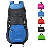 HEXIN Packable Backpack Hiking Daypacks Big Camping Outdoor Backpack