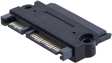 """lakpad SATA 22 Pin SAS Hard Drive Adapter,SFF-8482 Computer/Connectors Cable, SATA 22 Pin Male to SAS 22 Pin Female (7+15) Convertor, for 2.5&3.5"""" HDD Extension Convertor Adapter"""
