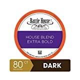 Barrie House Bulk Quantity Value Pack Single Serve Coffee Pods, 80 Count | House Blend Bold | Compatible With Keurig K Cup Brewers | Small Batch Artisan Coffee in Convenient Single Cup Capsules