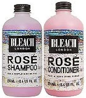 Bleach London Rose Shampoo x 250ml & Bleach London Rose Conditioner x 250ml by Bleach London