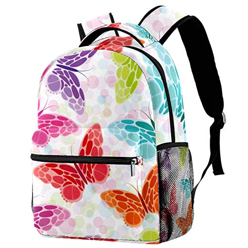 Mochila escolar de dibujos animados jirafa patrón de corazón bolsas para niños adolescentes niño de moda mochila viaje portátil bolsa