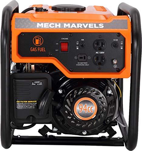 Mech Marvels MM2350 Portable Generator, Orange